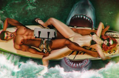Second Life Water Ban Lines Replaced by a Shark in Adult Regions